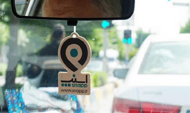 ارسال پیامک به خودروهای اسنپ فاقد معاینه فنی