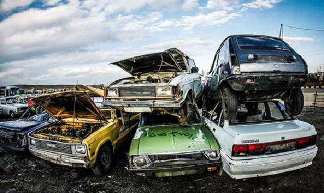 کاهش اسقاط خودرو