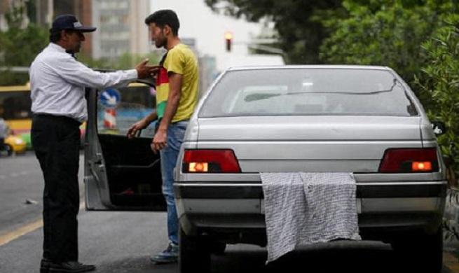 حبس برای افرادی که پلاک خودرو را مخدوش می کنند
