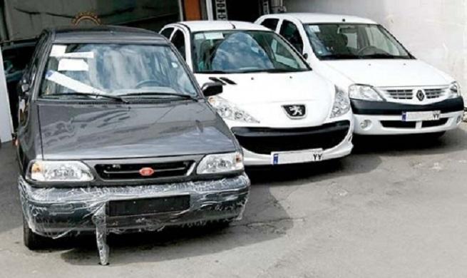 کاهش قیمت خودروهای داخلی