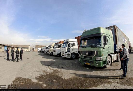 خودروهای گمرک غرب تهران